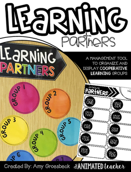Learning Partners – Purposeful Cooperative Groups Bulletin Board Kit