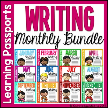Learning Passport Monthly Writing Bundle