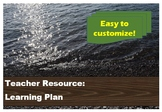 Learning Plan - Curriculum planning tool for teachers - Ea