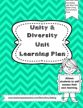 Unity and Diversity Learning Plan NY Biology (The Living E