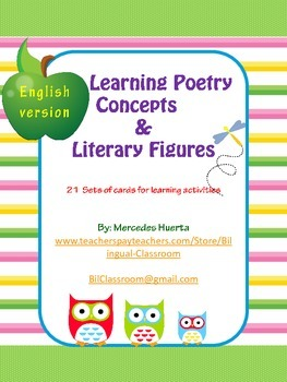 Learning Poetry Concepts & Literary Figures