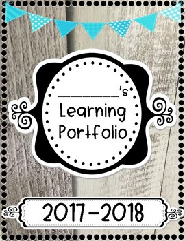 Learning Portfolio Cover