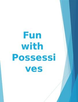Learning Possessive /s/