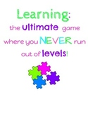 Learning Poster - Growth Mindset
