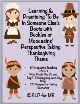 Thankful to Learn About and Practice Perspective Taking Skills - Thanksgiving