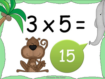 Times Tables Power Point Pack: Learning & Practicing the 5 x Table
