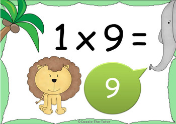 Times Tables Power Point Pack: Learning & Practicing the 9 x Table