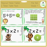 Times Tables Power Point Pack: Learning & Practicing the 2