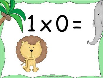 Times Tables Power Point Pack: Learning & Practicing the 0 x Table