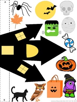Learning Prepositions - Halloween Edition!
