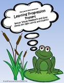 Learning Progression Posters, Feedback and Goal Forms
