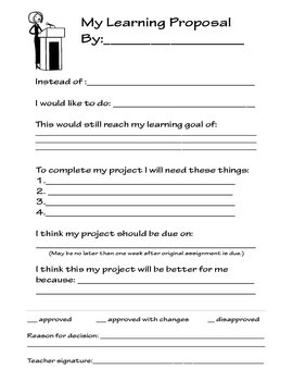 Learning Proposal