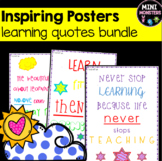 Learning Quote Posters
