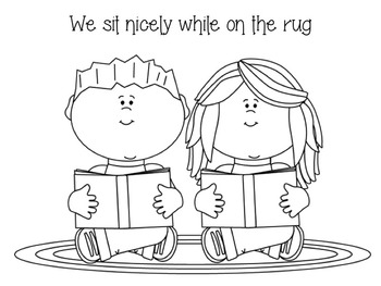 Learning Rules- Coloring Sheets