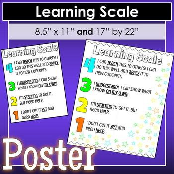 Learning Scale Poster
