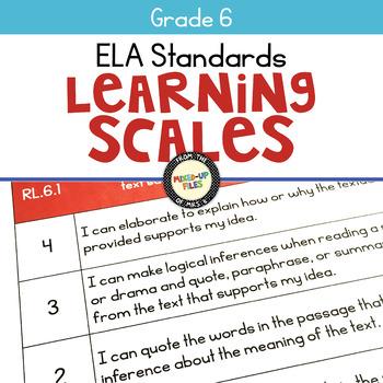 ELA Learning Scales 6