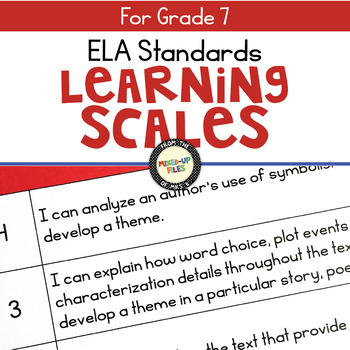 Learning Scales ELA 7th Grade