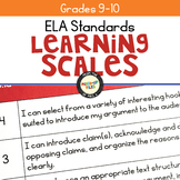 ELA Learning Scales 9 - 10