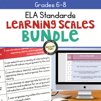 Learning Scales ELA Grades 6 - 8