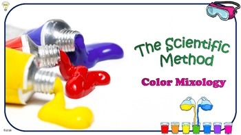 Explaining Scientific Method while Observing Mixing Colors