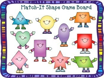 Learning Shapes Pack (Activities, Books, Game)