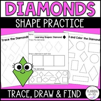 Learning Shapes: Diamond