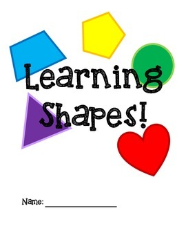 Learning Shapes & Geometry Workbook!
