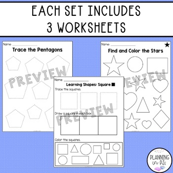 Learning Shapes Pack!