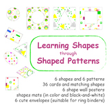 Learning Shapes Through Shaped Patterns