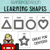 Road Tracing Shape Mats for Learning Shapes