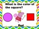 Learning Shapes and Colors with Peppa Pig (Fully Editable) - Smartboard