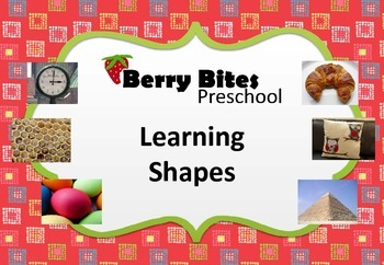 Learning Shapes - fact sheets, worksheets and activity ideas for preschool