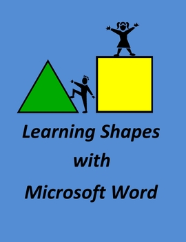Learning Shapes with Microsoft Word - Simple Geometry
