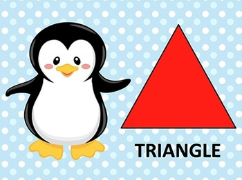 Learning Shapes with Mr. Penguin - Mini Unit - Preschool