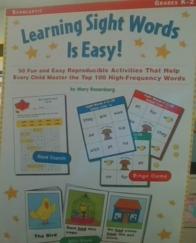 Learning Sight Words is Easy!