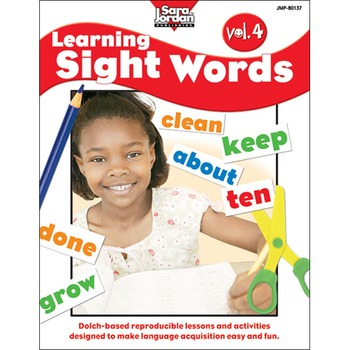 Learning Sight Words, vol. 4