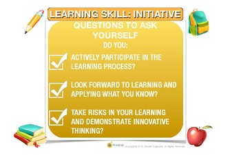 Learning Skills Anchor Charts For Classroom Use