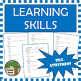 Learning Skills Checklist - Student self-evaluation
