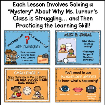 Study Skills Lesson Plan Bundle