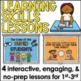 Study Skills Lesson Plan Bundle for Lower Elementary
