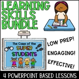 Study Skills Lesson Plan Bundle