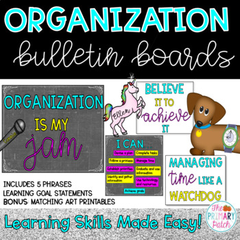 Learning Skills Bulletin Board