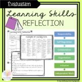 Learning Skills Self-Reflection || ENGLISH - Ontario