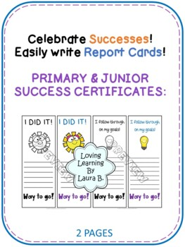 Learning Skills Self-evaluation and Goal Setting for Primary