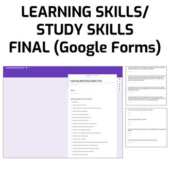 Learning Skills/Study Skills Final (Google Form)
