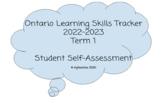 Learning Skills Tracker Booklet: 2018-2019 Term 1