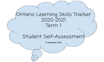 Learning Skills Tracker Booklet: 2018-2019 Term 1