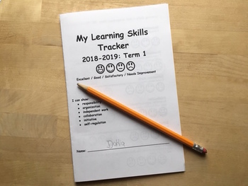 Learning Skills Tracker Booklet: 2018-2019 Term 2