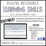 Google Forms | Report Card Learning Skills Self-Assessment
