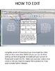 Learning Skills & Work Habits Monthly Self-Assessment  {EDITABLE}